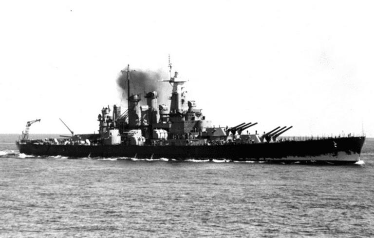 USS North Carolina (BB-55) Bb-55-10