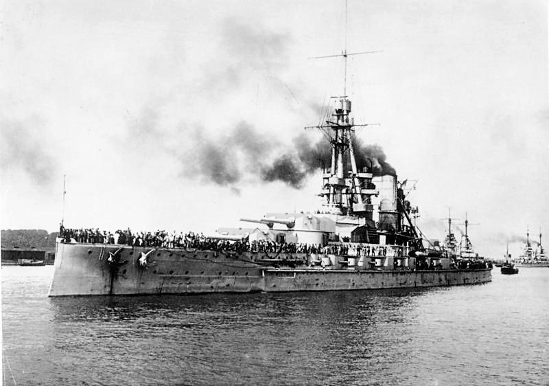 Hochseeflotte allemande Bundes21