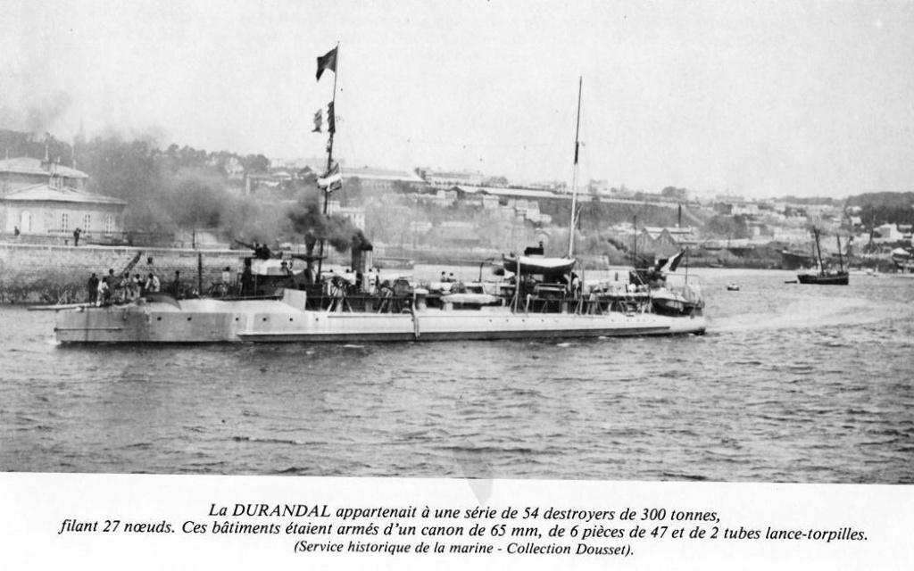 Navires de guerre Français 1914-1918 - Page 2 Durand10