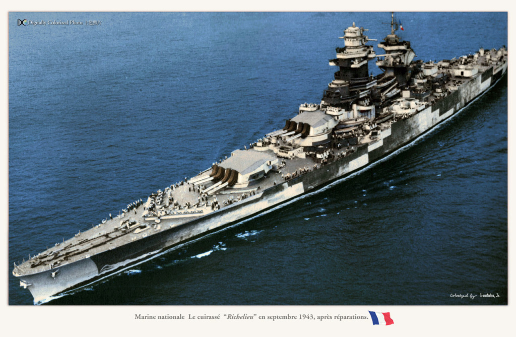 Camoufalge des navires français 1939 45  French10