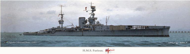 Grande histoire des porte-avions de combat - Page 2 Furiou11