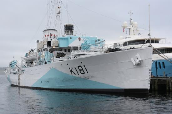 NCSM Sackville - HMCS Sackville H-m-c-10