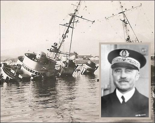 TOULON sabordage de la flotte française le 27.11.1942 Ob_5dc10