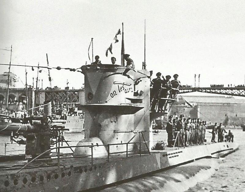 Les U-Boote, sous-marins de la Kriegsmarine Onlesa10