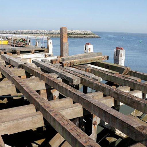 Travaux au port d'Oostende Sans-t37