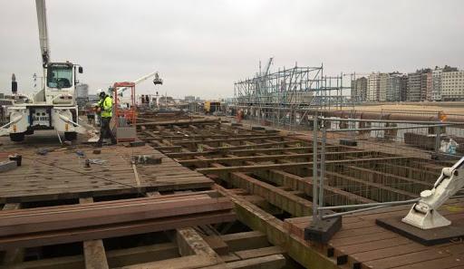 Travaux au port d'Oostende Unname33