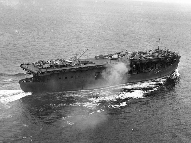 Petite histroire des porte-avions d'escorte - 1915-1945 - Page 5 Uss_lo10