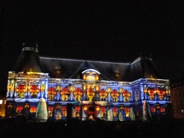 Rennes: découvrez les illuminations du Parlement de cet été Dsc09021