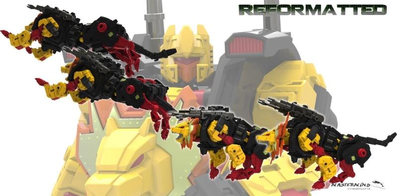 [Mastermind Creations] Produit Tiers - Feral Rex (aka Prédacons G1) + R-20N Nero Rex (aka Prédacons Noir) 27371311
