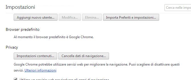 Come pulire la cache del browser 310