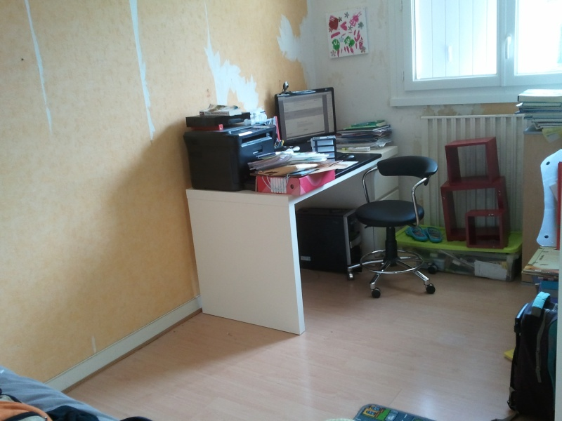 aménagement / déco bureau chambre d'amis 2013-018