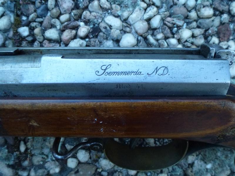 un fusil Dreyse modèle 1841 P1010438
