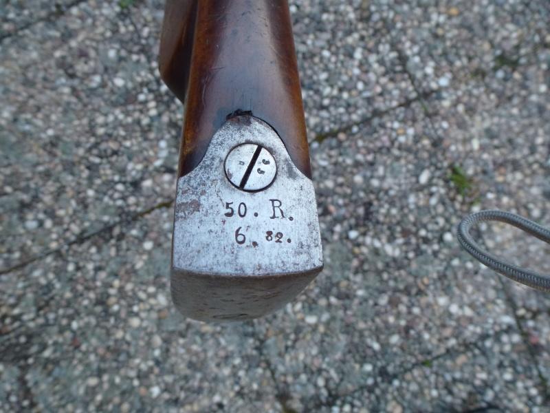 un fusil Dreyse modèle 1841 P1010440