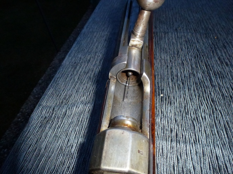 un fusil Dreyse modèle 1841 P1010441