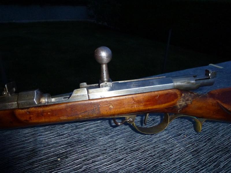un fusil Dreyse modèle 1841 P1010442
