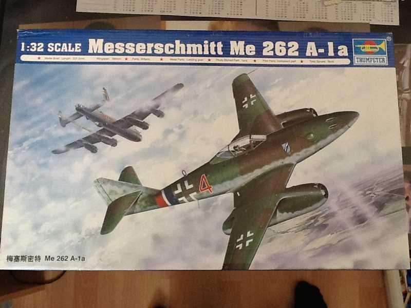 Messerschmitt Me 262 A-1a Trumpeter 1:32  K800_i10