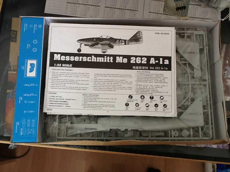 Messerschmitt Me 262 A-1a Trumpeter 1:32  K800_i11