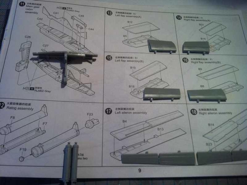 Messerschmitt Me 262 A-1a Trumpeter 1:32  K800_k13