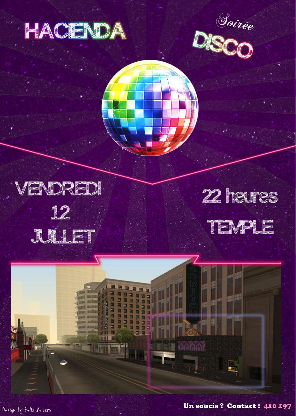 [Hacienda] Soirée Disco 12/07/219 12072010