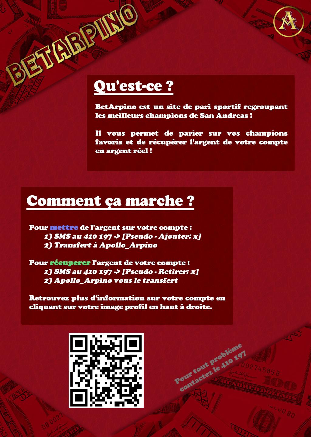 [BetArpino] Flyer Affich11