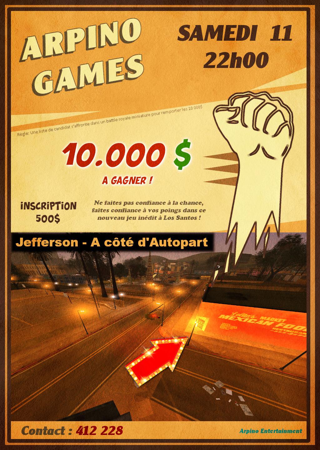 (EVENT IC) [ArpinoGames] 11/01 - 22h00 Affich20