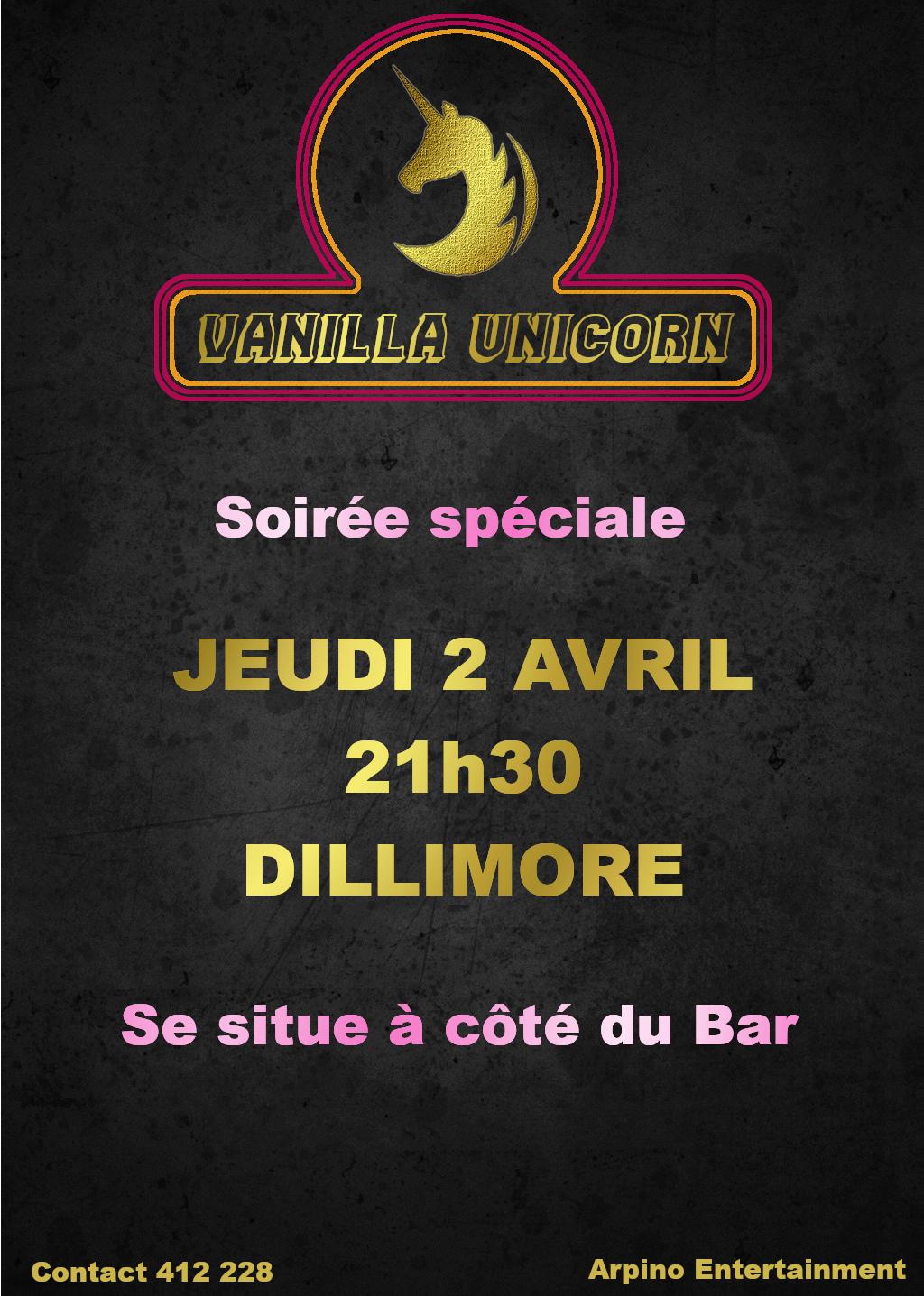 (EVENT IC) Vanilla Unicorn Affich33