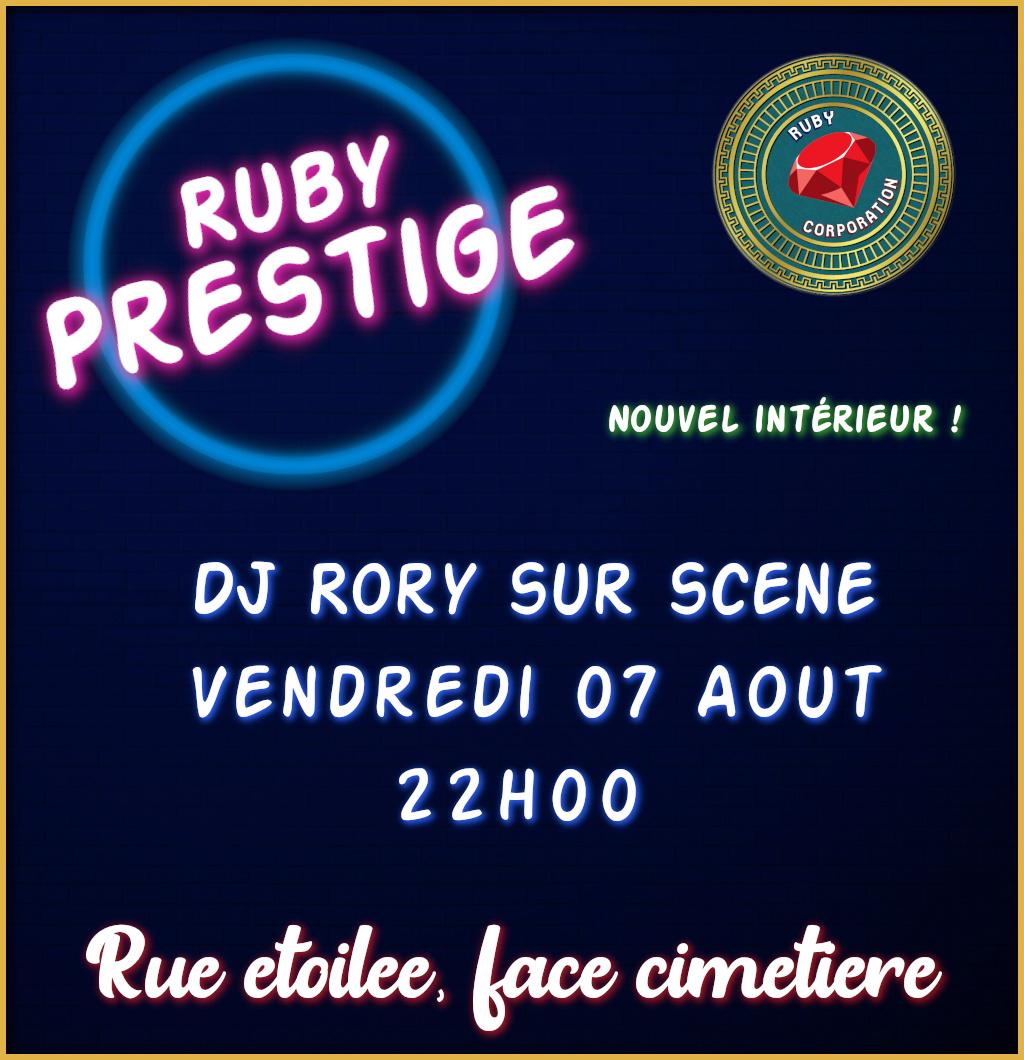 (FLYER) Ruby Prestige Club Affich43
