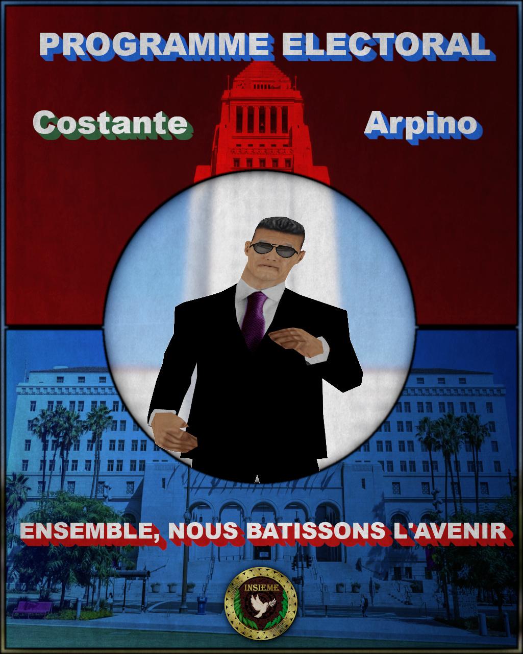 Programme Électoral - Costante Arpino Page110