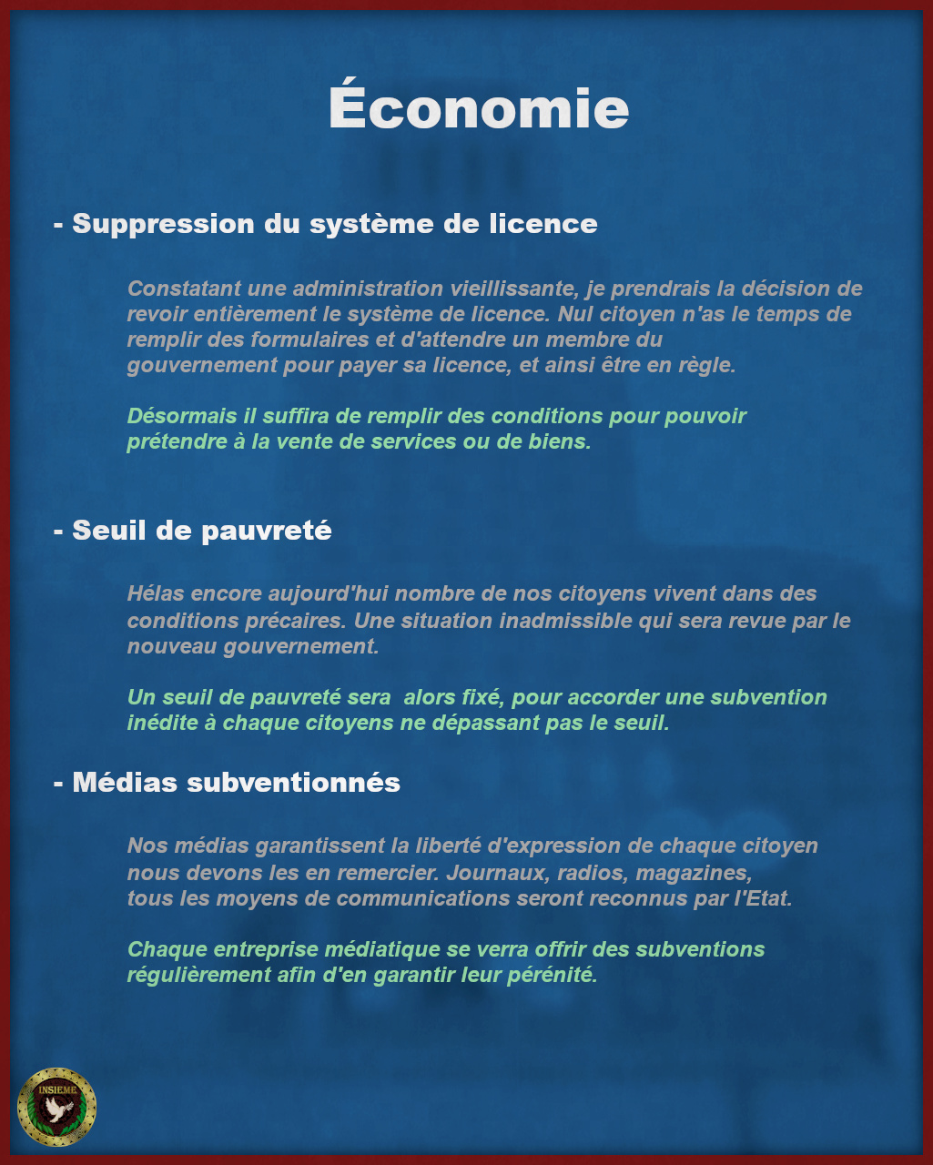 Programme Électoral - Costante Arpino Page311