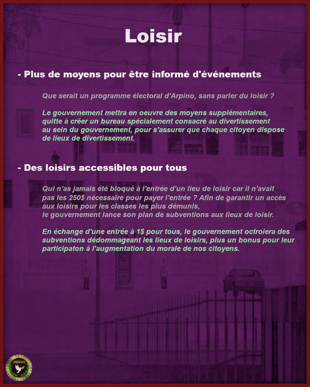 Programme Électoral - Costante Arpino Page512