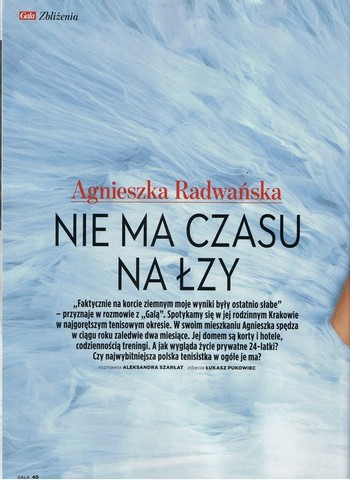 LES SOEURS RADWANSKA  Agnieszka et Urzula (Polonaises) - Page 2 Rad110