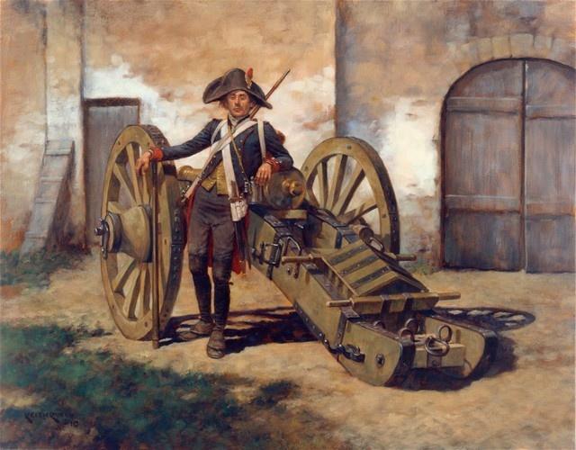 La couleur des affûts et du matériel roulant français Artill10