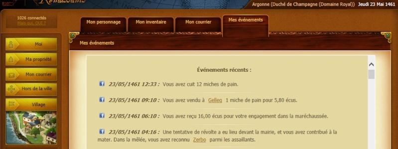 Zerbo - Tentative de révolte - Argonnes, le 23/05/1461 Preuve11