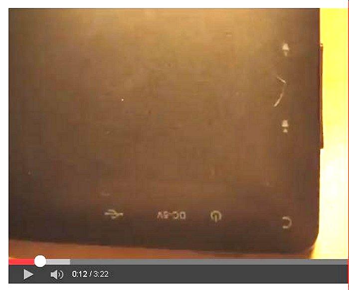Disassemblege tablet Mid A13 7 pouces ,démontage A13 Mid Mida10