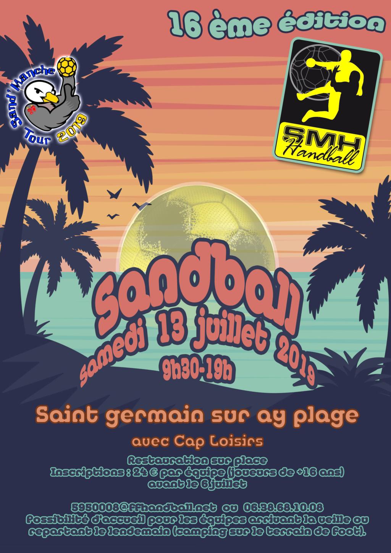 Tournoi Sandball Saint germain sur ay (organisé par la haye du puits) - Page 5 Sandba10