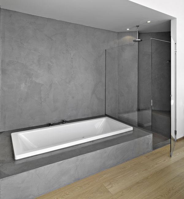 Béton ciré dans salle de bain , bonne idée ou pas ? Salle-10
