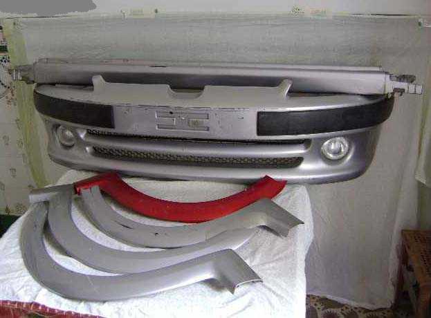 [ Vendo ] Peças do kit exterior - Peugeot 106 GTI / XSI fase 2 / RALLYE fase 2 / Q. SILVER 12973010