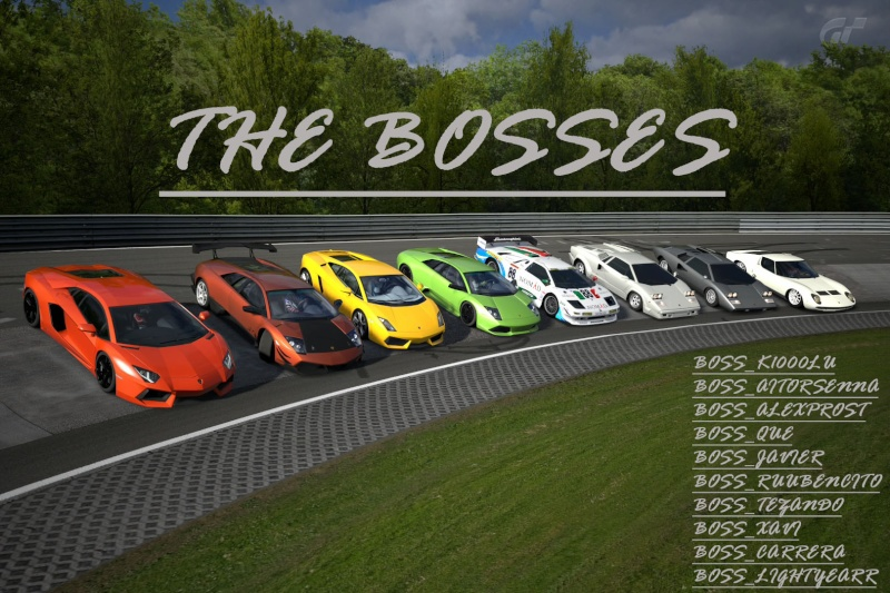 - THE BOSSES -