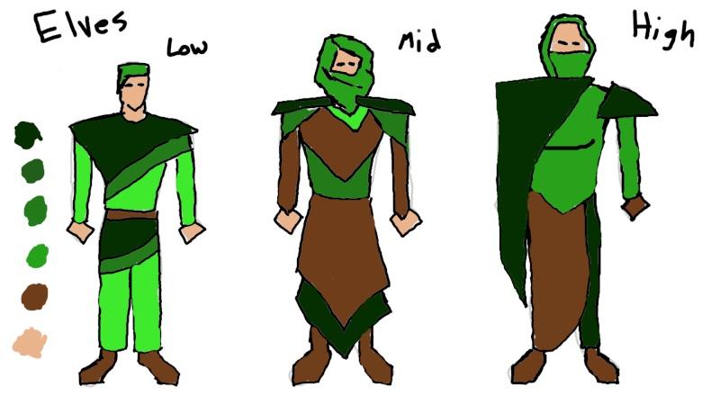 Character Ideas Elf-lo11