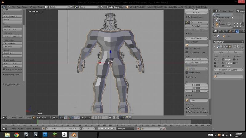 Belial's 3D progress Progre11