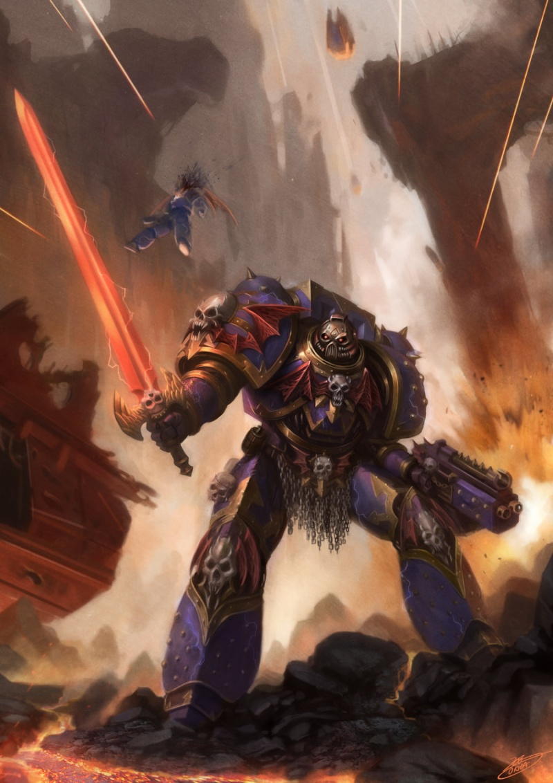 [W40K] Collection d'images : Space Marines du Chaos - Page 2 _talos10