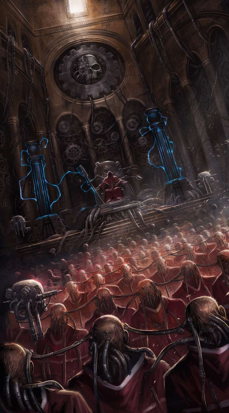 [W40K] Collection d'images : Adeptus Mechanicus Domini10