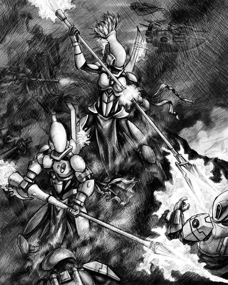 [W40K] Collection d'images : les Xenos - Page 2 Eldar_14