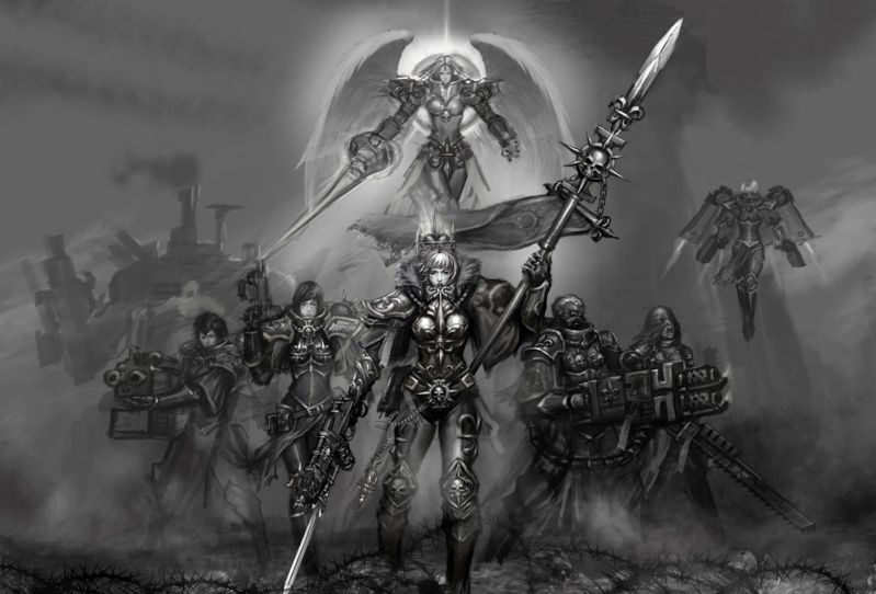 [W40K] Collection d'images : Inquisition/Chevaliers Gris/Sœurs de Bataille - Page 2 Sister13