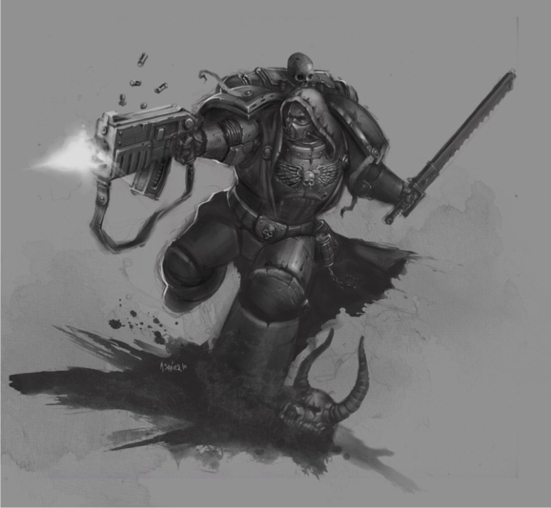 [W40K] Collection d'images : Space Marines - Page 2 Warham10