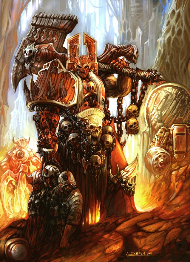 [W40K] Collection d'images : Space Marines du Chaos - Page 2 Warham16