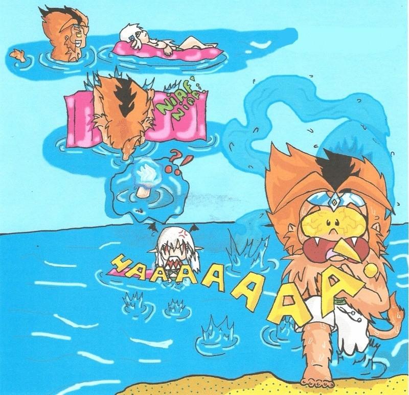 Mes dessins!!!! Du moins ce que ça doit être ( Lysha ) - Page 2 Lisa-d11