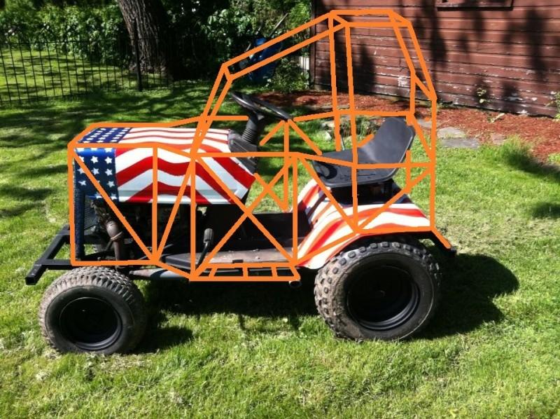 92mph? My new Project, Racing mower! Craftsman / Jonsered LT12 - Page 12 Djihi11