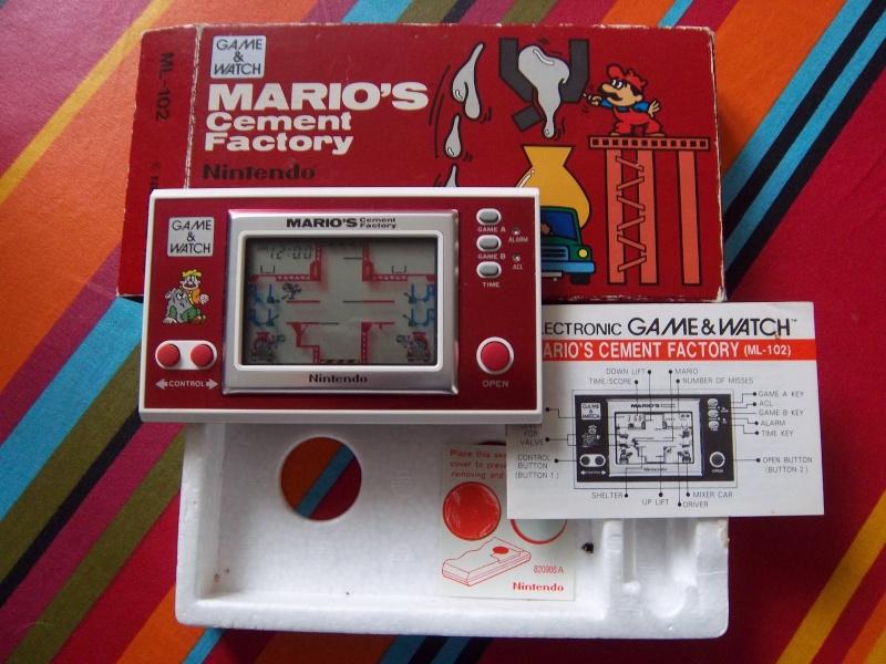 Je vais vendre ma collection de Game Watch....  Imgp0118