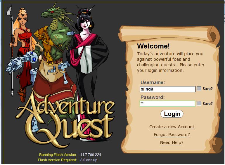 Adventure quest... Aq110